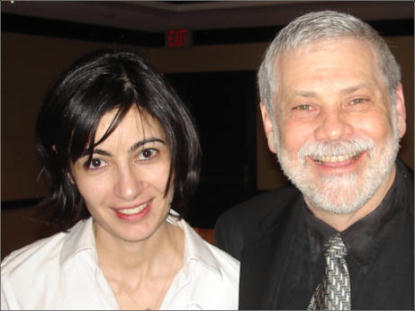 Edwin Black with Anne Korin