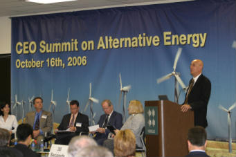 CEO alternative energy summit